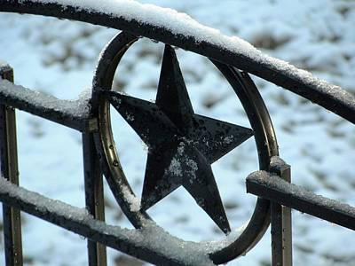 Photograph - Texas Snow by Charlie and Norma Brock
