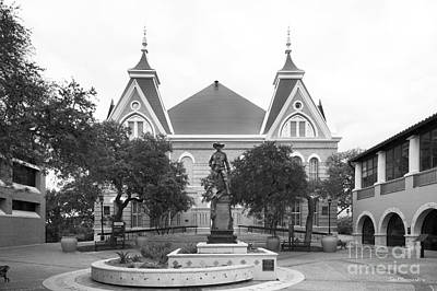 Photograph - Texas State University Old Main Plaza by University Icons