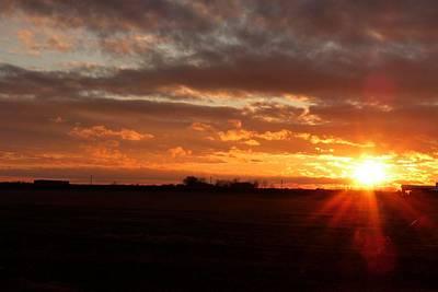 Photograph - Texas Sunset by Marilyn Burton