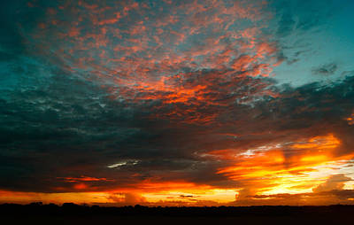 Photograph - Texas Sunset by Norchel Maye Camacho