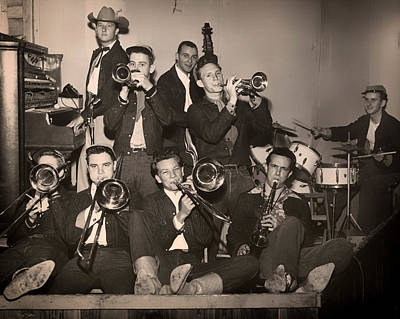 Saxophone Photograph - Texas Swing 1950s by Mountain Dreams