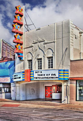 Movies Photograph - Texas Theater Dallas by David and Carol Kelly