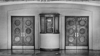 Photograph - Texas Theater Ticket Booth by David and Carol Kelly