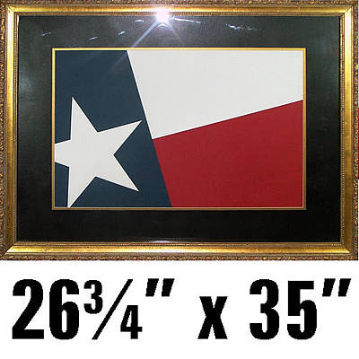 Texas Tx Flag Art Made Of Textured Cut Paper Original