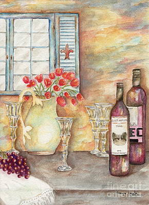 Painting - Texas Wine by Tamyra Crossley