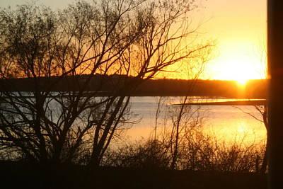 Photograph - Texas Winter Sunset On Lake Tawakoni by Amelia Painter