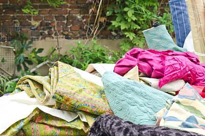 Second Hand Photograph - Textiles Sale by Tom Gowanlock