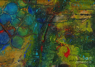 Painting - Textural Fortitude by Angela L Walker