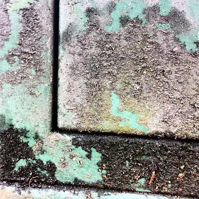 Abstract Wall Art - Photograph - Green Box 3 by Jason Michael Roust