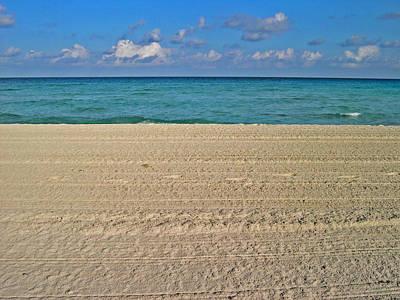 Texture Varadero. Beach. Sand. Sea. Sky.  Cloud. Original by Andy Za