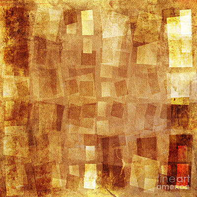 Color Image Mixed Media - Textured Background by Jelena Jovanovic