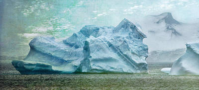 Photograph - Textured Iceberg by June Jacobsen
