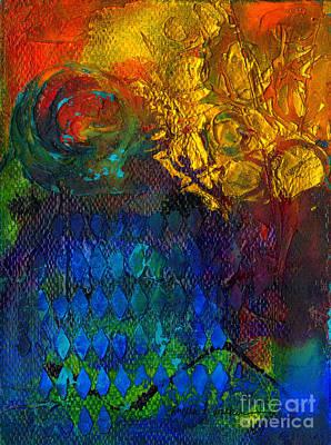 Mixed Media - Textured Joy by Angela L Walker