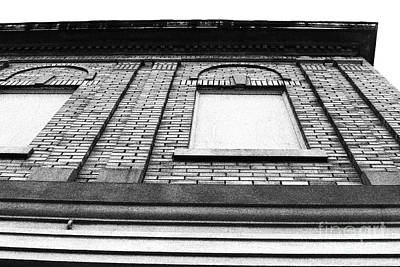 Textured Landscape Of Building Facade Print by Omi Salavea