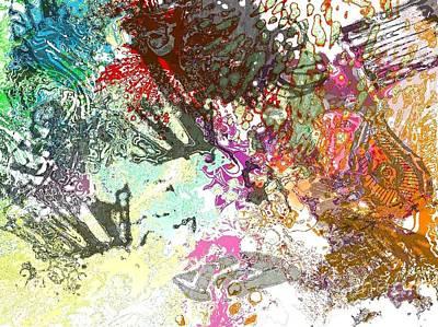 Digital Art - Textures 20150209 by Julie Knapp