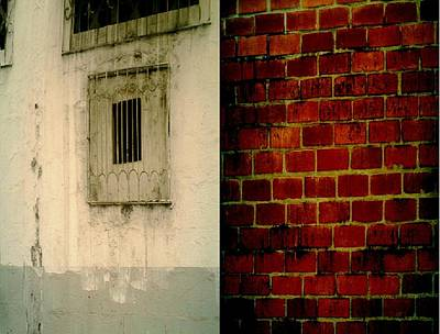 Textures And Contrast Of Two Buildings Original