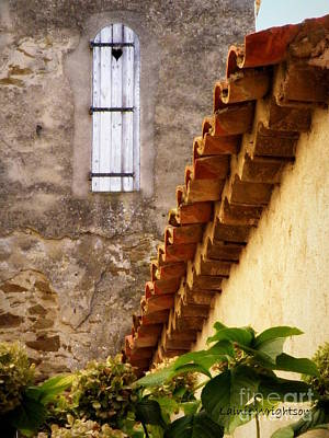 Textures In A Provence Village Art Print