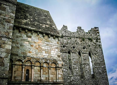 Photograph - Textures Of History At Ireland's Rock Of Cashel by James Truett