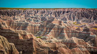 Webster Park Photograph - Tha Badlands by Perry Webster