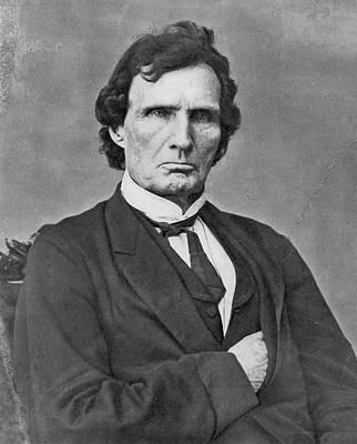 Photograph - Thaddeus Stevens (1792-1868) by Granger
