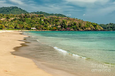 Thai Beach Print by Adrian Evans