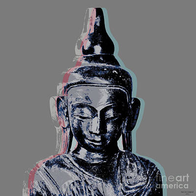 Digital Art - Thai Buddha #2 by Jean luc Comperat