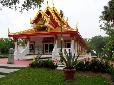 Richard Gere Photograph - Thai Buddhist Temple IIi by Buzz  Coe