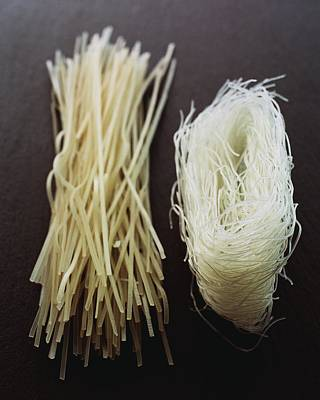 Thai Rice Noodles Art Print