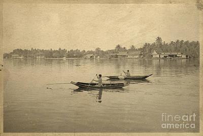 Postcards Photograph - Thai River Life by Setsiri Silapasuwanchai