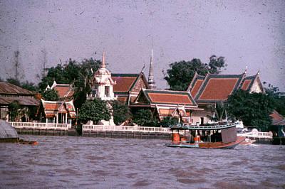 Photograph - Thai River Scene by John Warren