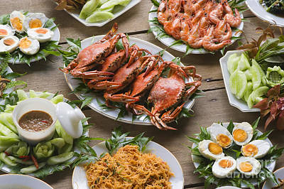 Photograph - Thai Seafood Delight by Craig Lovell