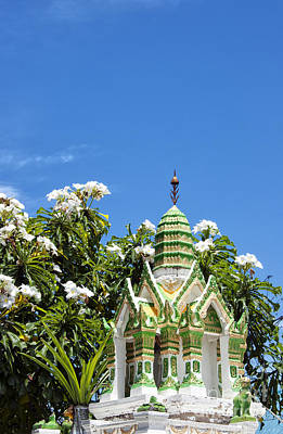 Thai Spirit House 01 Art Print