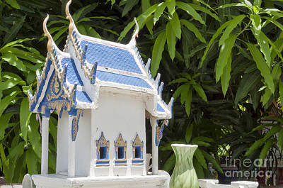 Thai Spirit House 02 Art Print