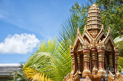 Thai Spirit House 03 Art Print