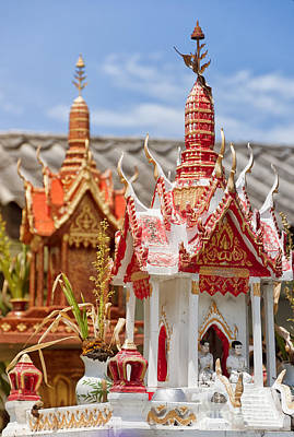 Thai Spirit House 05 Art Print