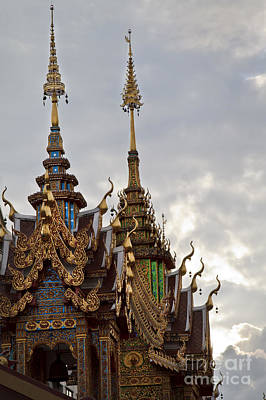 Photograph - Thai Temple by Dennis Hedberg