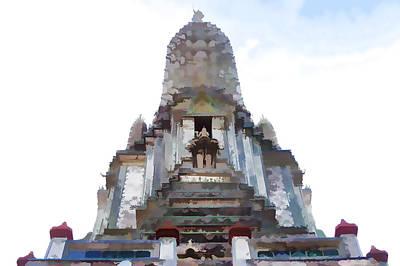 Photograph - Thai Temple Thailand by Indiana Zuckerman