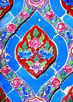 Photograph - Thai Tiles by Ramona Johnston