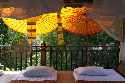 Thailand, Baan Pai, Village Hotel � Print by Tips Images