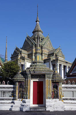 Thailand, Bangkok. Wat Pho Temple � Art Print by Tips Images