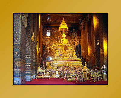 Photograph - Thailand Temples 2 by Jeff Brunton