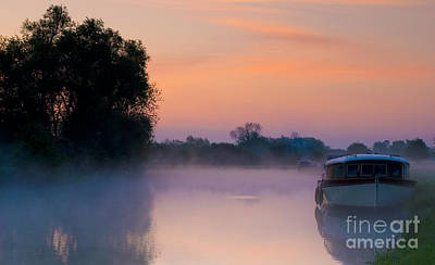 River Thames At Dawn  Art Print