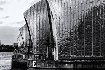 Thames Barrier Art Print