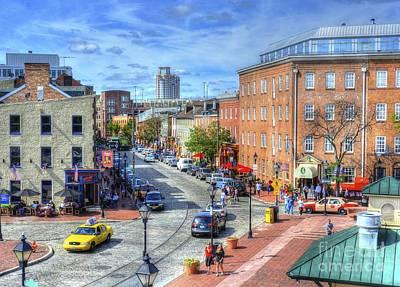 Fells Point Baltimore Photograph - Thames Street by Debbi Granruth