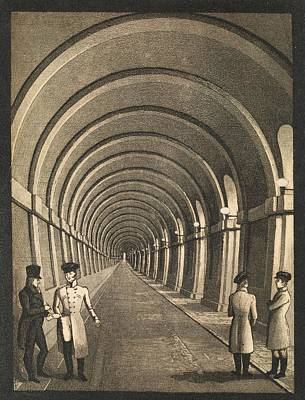Thames Tunnel Art Print by Middle Temple Library