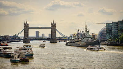 Photograph - Thames View by Heather Applegate