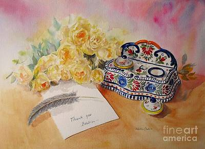 Thank You From Beatrice Art Print