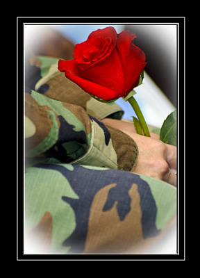 Photograph - Thank You Veteran by Carolyn Marshall