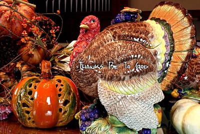 Thanksgiving Original by Richard Lestage