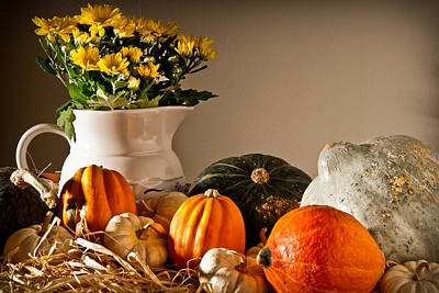 Photograph - Thanksgiving Still Life by  Onyonet  Photo Studios